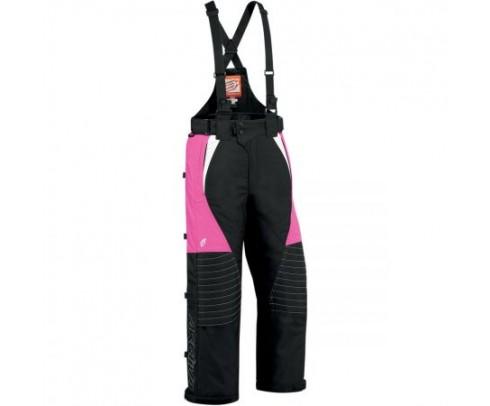 Pantaloni Arctiva Comp 7 - dama - negru/roz