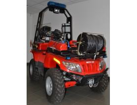 ATV DE PRIMA INTERVENTIE LA INCENDII - FIRE GUARD